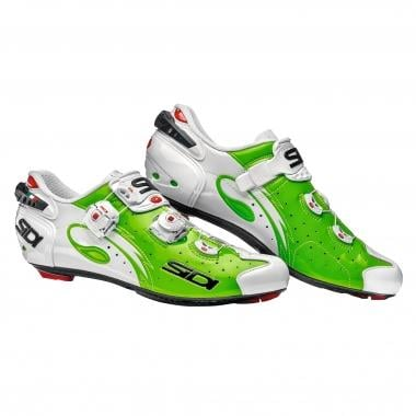 Chaussures Route SIDI WIRE CARBON Vert Fluo/Blanc