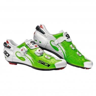 SIDI WIRE CARBON Road Shoes Fluoro Green/White