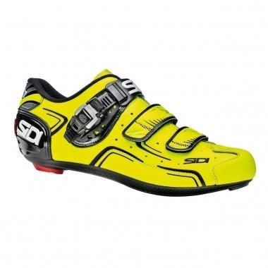 Sapatos de Estrada SIDI LEVEL Amarelo Fluorescente/Preto