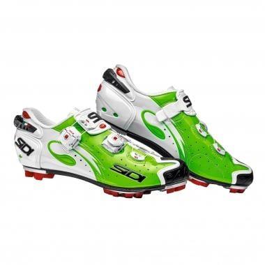 SIDI DRAKO CARBON SRS MTB Shoes Fluoro Green/Vernice White