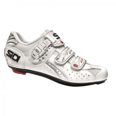 Chaussures Route SIDI GENIUS 5 CARBON Femme Blanc