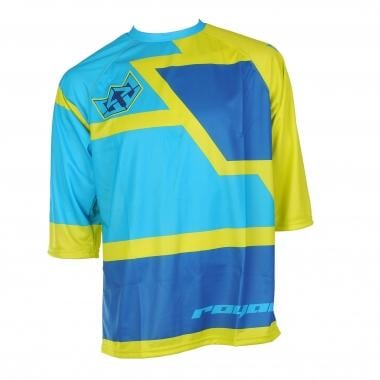 Maillot ROYAL RACING DRIFT Manches 3/4 Jaune/Bleu