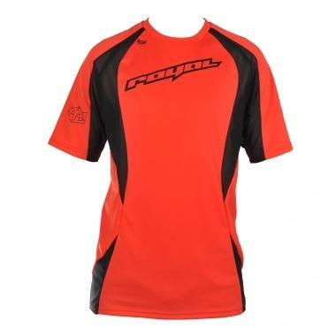 Maillot ROYAL RACING TURBULENCE Manches Courtes Rouge/Gris