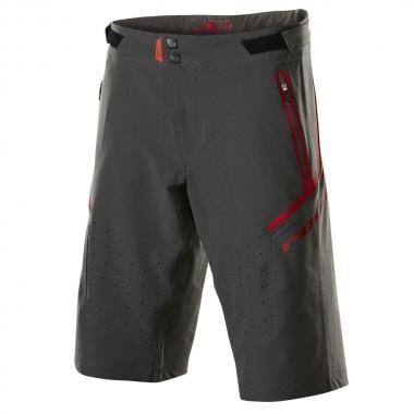 Pantaloni Corti ROYAL RACING IMPACT Grigio/Rosso