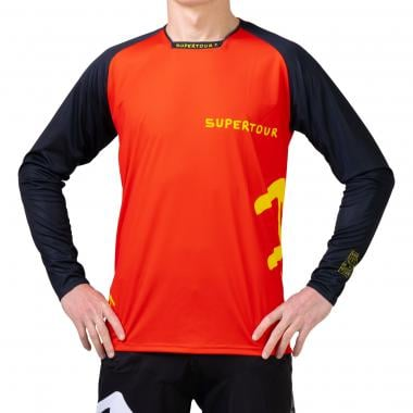 Maillot SUPERTOUR FREERIDE Manches Longues Rouge