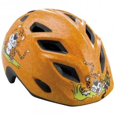 Casque MET GENIO LEOPARD Enfant Orange