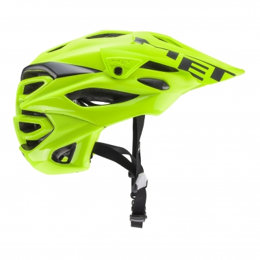 Casco MET PARABELLUM SAFETY Negro/Amarillo fluorescente 2017