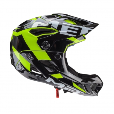 Casco MET PARACHUTE SAFETY Negro/Amarillo fluorescente 2017