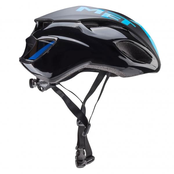 187a1fe0642 MET RIVALE Helmet Black/Blue - Probikeshop