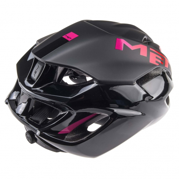 casque met rivale noir rose probikeshop. Black Bedroom Furniture Sets. Home Design Ideas
