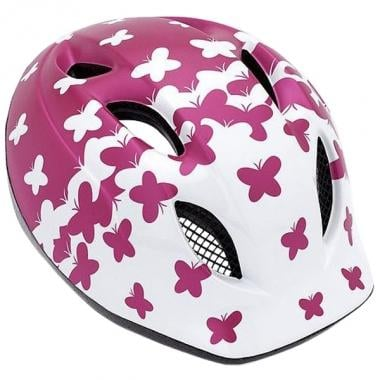 Casque MET SUPER BUDDY Enfant Rose Papillons