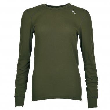 T-Shirt ODLO WARM Manches Longues Vert