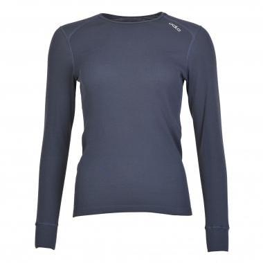 T-Shirt ODLO WARM Donna Maniche Lunghe Grigio