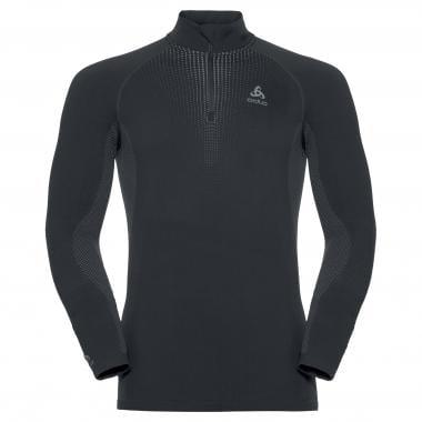 Sous-Vêtement Technique ODLO PERFORMANCE WARM 1/2 ZIP Manches Longues Noir