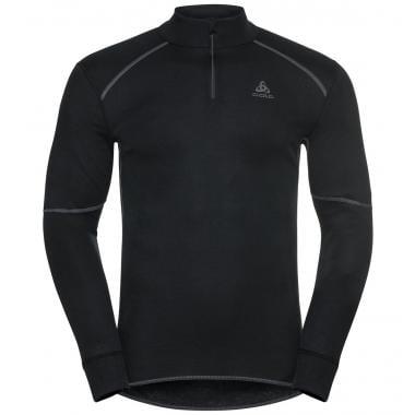 Sous-Vêtement Technique ODLO ACTIVE X WARM ECO ZIP Manches Longues Noir