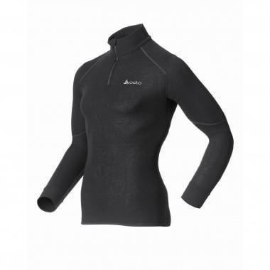 T-Shirt ODLO X-WARM ZIP Manches Longues Noir