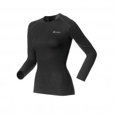 T-Shirt termica ODLO X-WARM Donna Maniche Lunghe Girocollo Nero