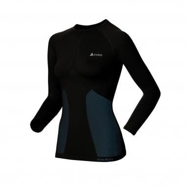 T-Shirt Termica ODLO EVOLUTION WARM Donna Maniche Lunghe Girocollo Nero