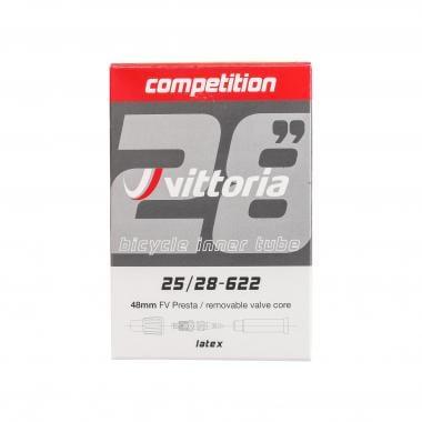 Chambre à Air VITTORIA COMPETITION LATEX 700x25/28c Valve 48 mm