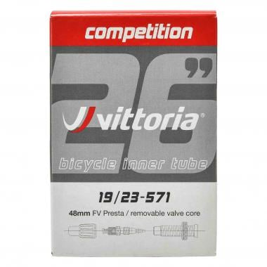 Chambre à Air VITTORIA COMPETITION BUTYL 650x19/23c Valve 48 mm