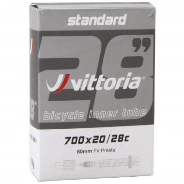 Chambre à Air VITTORIA STANDARD 700x20/28c Valve 80 mm