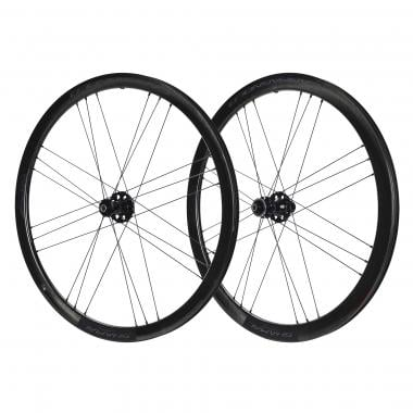 CAMPAGNOLO SHAMAL CARBON 2-WAY FIT DISC BRIGHT LABEL Clincher Wheelset (Center Lock)