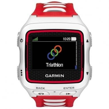 Montre GPS GARMIN FORERUNNER 920XT Blanc/Rouge