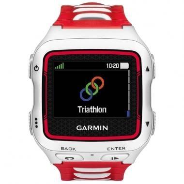 Montre GPS GARMIN FORERUNNER 920XT HRM Blanc/Rouge