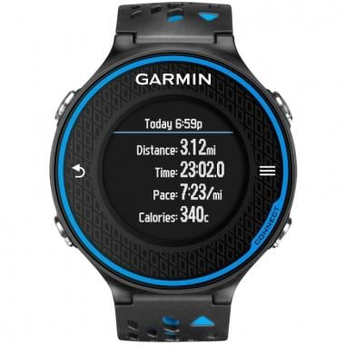 Reloj GPS GARMIN FORERUNNER 620 Negro/Azul