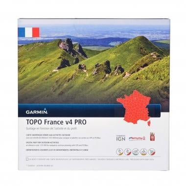 Mappa Topografica GARMIN per GPS TOPO Francia V4 Pro