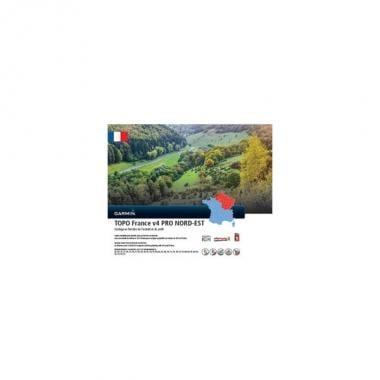 Carta Topográfica GARMIN para GPS TOPO França, Nordeste V4 Pro