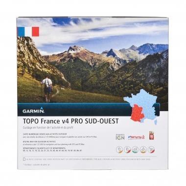 Carta Topográfica GARMIN para GPS TOPO França, Sudoeste V4 Pro