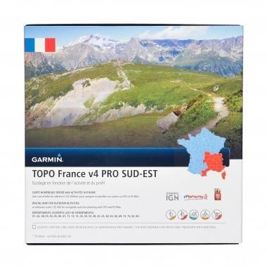 Carta Topográfica GARMIN para GPS TOPO França, Sudeste V4 Pro