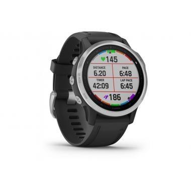 Relógio GPS GARMIN FENIX 6S Silver Bracelet Preto