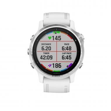 Relógio GPS GARMIN FENIX 6S Silver Bracelet Branco